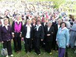 Mišrus choras apskrities dainų šventėje